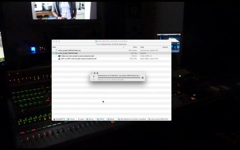 Cela facilite le transfert de fichiers et permet d'accélérer le temps de télé-versement.